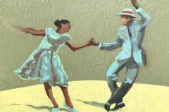 Swing Dancers - Michael Anderson