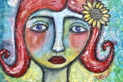 Girl with Red Hair - Darla Cavins