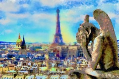 Paris Skyline - Charlotte Johnson