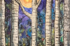 Paper Birches - Peggy Derhake