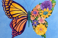 Butterfly In Bloom - Sheila Holloman